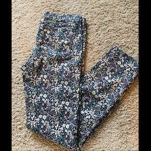 JCrew Liberty Toothpick Jeans, size 24